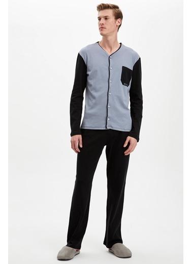 Doremi Erkek Pijama Takımı Siyah